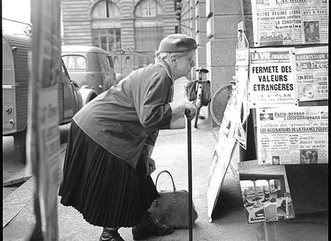 Barmay C., Octobre 1961 ; Rennes © Musée de Bretagne