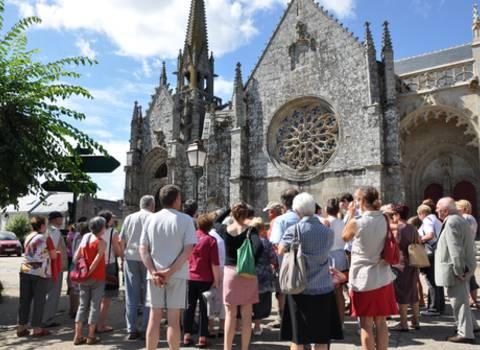Visite de l'église Notre Dame à Kernascléden © OTPRM