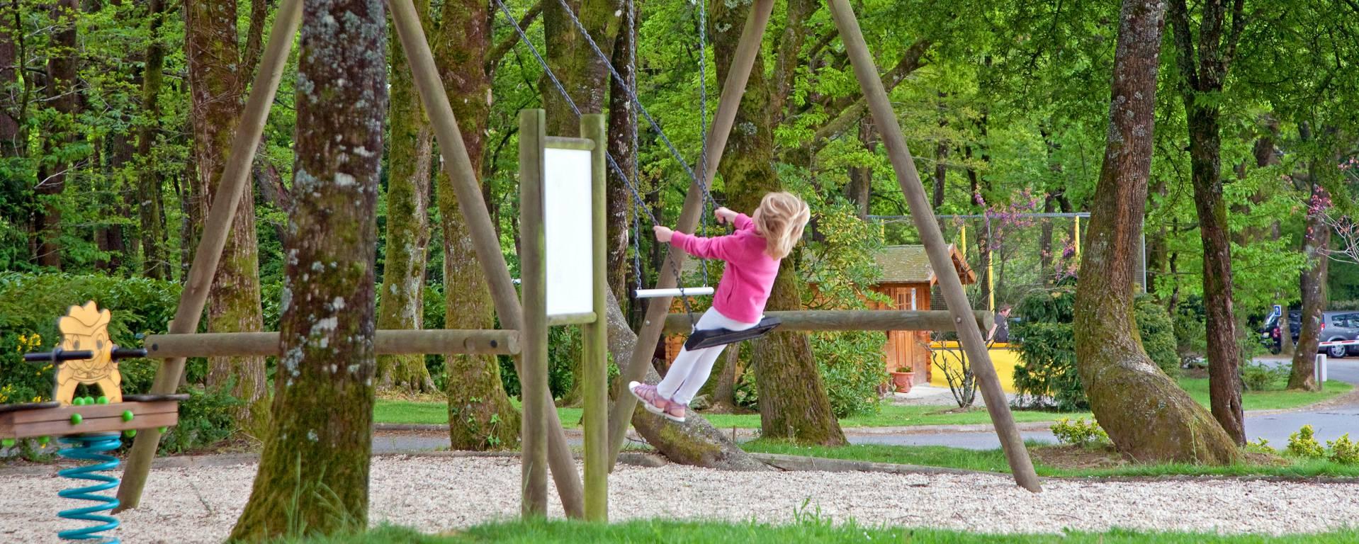 Aire de jeux pour enfants - © Franck Hamel - CRTB