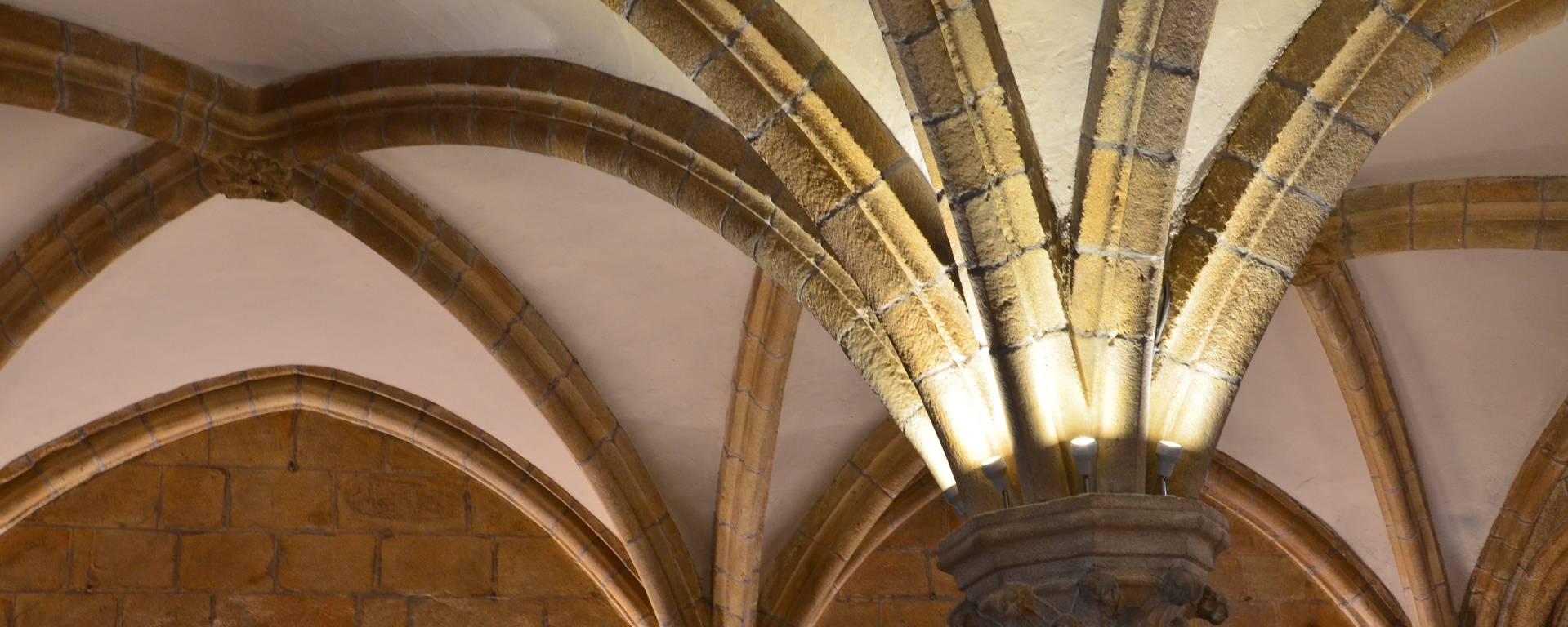 Vaults of the chapter house - © Roi Morvan Communauté
