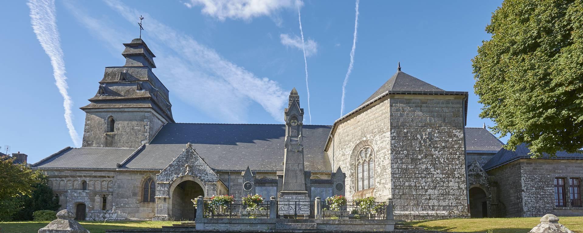 """The """"Notre Dame de L'Assomption"""" church- © M-A Gouret-Puillandre"""