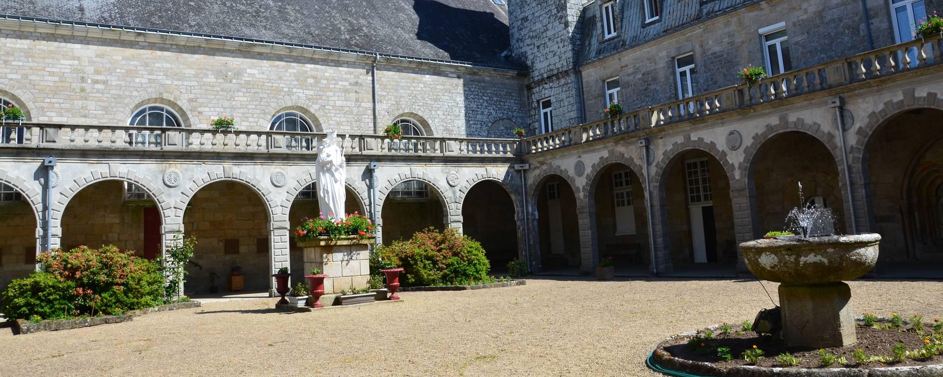 Langonnet Abbey © Roi Morvan Communauté