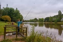 Pêche en étang à Gourin