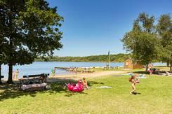 Ambiance d'été au Lac du Bel-Air