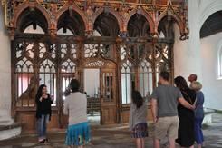 Visite flash à la chapelle St-Fiacre au Faouët