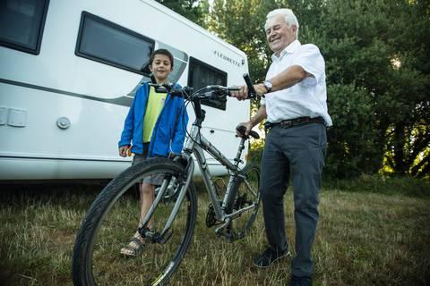 Aire des camping car au Pays du roi Morvan