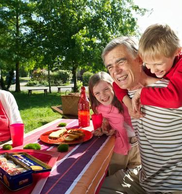 goûter chez les grands parents © Diaphane Ell-prod