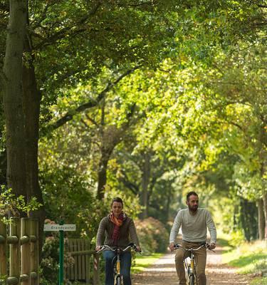 Balade à vélo sur la voie verte © Emmanuel Berthier