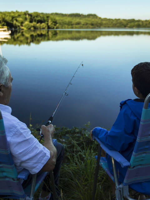 La pêche, une passion à transmettre