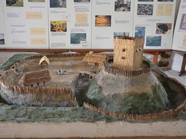 Maquette de l'exposition