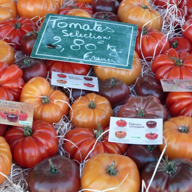 Market at Gourin © OTPRM