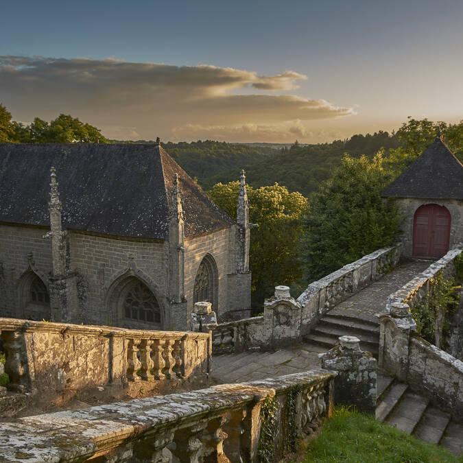 """The """"Chapelle Ste Barbe"""" - Le Faouët - © M-A Gouret-Puillandre"""