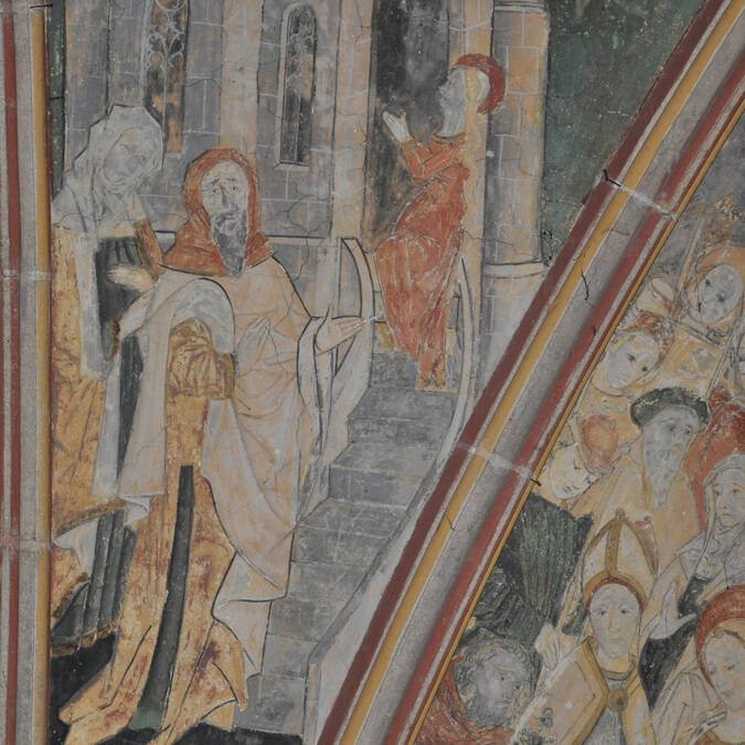 Vault - Notre-Dame de Kernascléden - © OTPRM