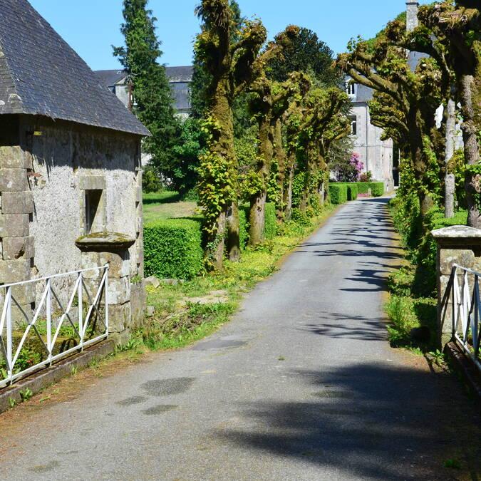 Parc de l'abbaye de Langonnet