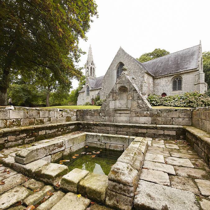 Chapelle Saint Urlo à Lanvénégen -© Alexandre Lamoureux