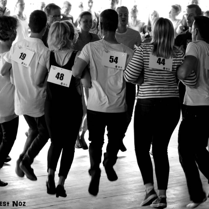 Traditional dance competition - Gourin © Norbert Fest Noz
