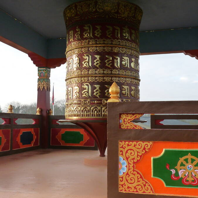 Centre bouddhique de Plouray -©médiathèque de Plouray