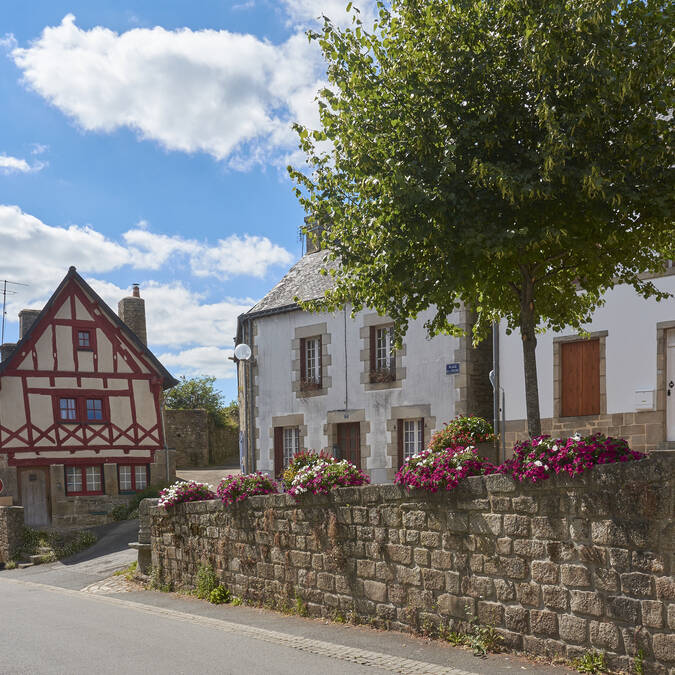 Guémené town centre © M-A Gouret-Puillandre