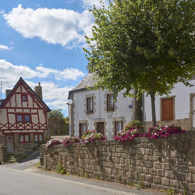 Centre-ville - Guémené - © M-A Gouret-Puillandre