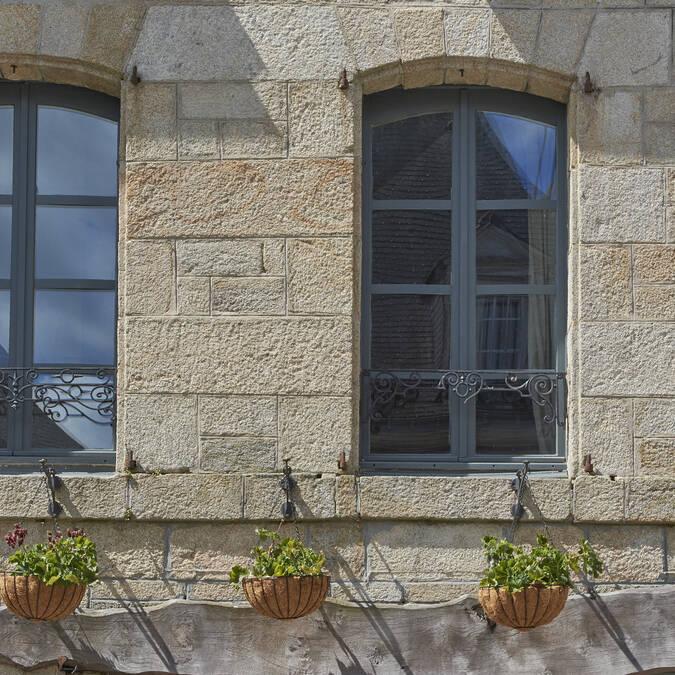 Typical local architecture © M-A Gouret-Puillandre