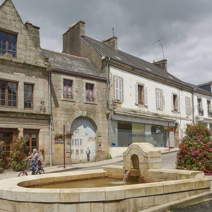 Town centre, Guémené © M-A Gouret-Puillandre