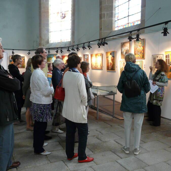 Visite au musée du Faouët - © Musée du Faouët