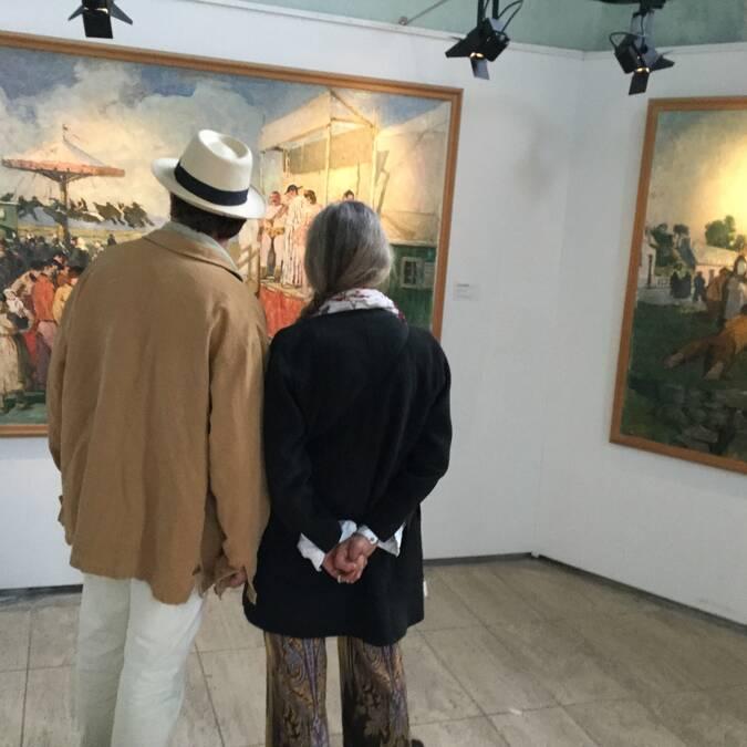Couple au musée du Faouët - © Musée du Faouët
