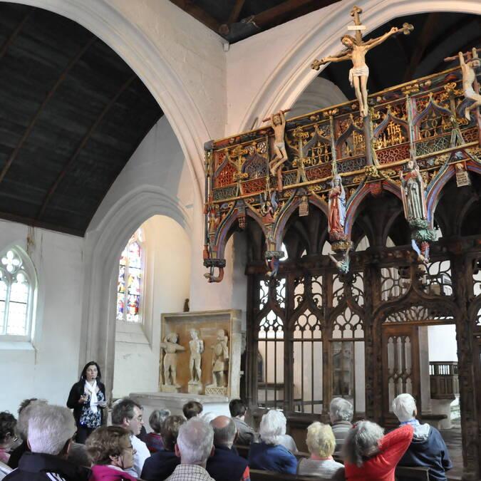 Visite guidée à la chapelle St Fiacre - © OTPRM