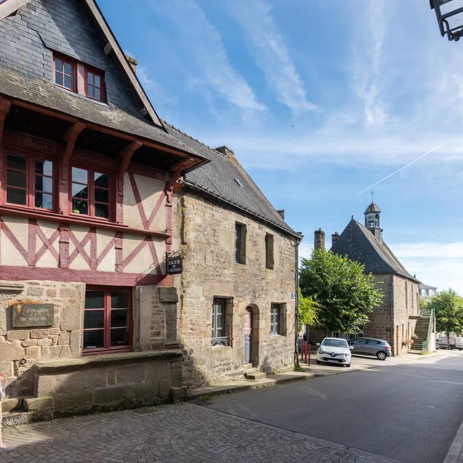 Centre ville de Guémené-sur-Scorff