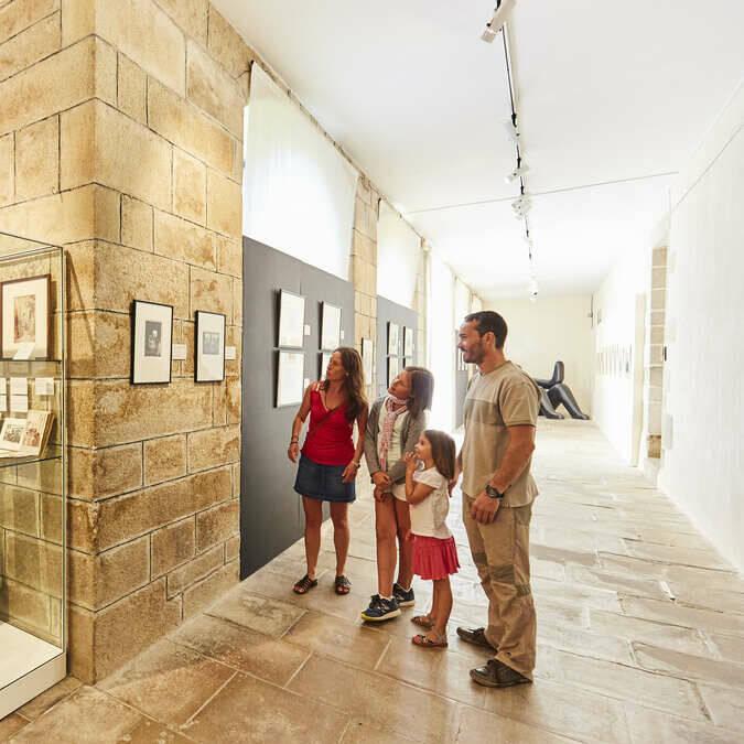 Le cloître du musée du Faouët @ Alexandre Lamoureux